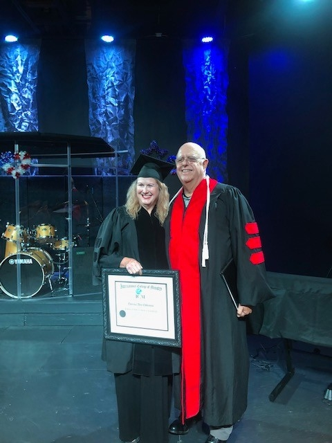 Congratulations to our latest graduates! I was very blessed and excited to be at our Liberty Church campus in Arab, Alabama over the weekend.The highlight of the weekend was to award degrees to four very deserving graduates.Congratulations toJanie Kathryn Minor, Doctor of Ministry, Nick Craig Westenhofer, Master of Theology,, Lori Walker, Bachelor of Arts in Christian Counseling  and Theresa Ann Eddleman, Bachelor of Arts in Christian Counseling.I was also honored to license and ordained Nick Westenhofer is a minister of the Gospel of Jesus Christ.These students worked very hard for their achievement and I am very proud of them.