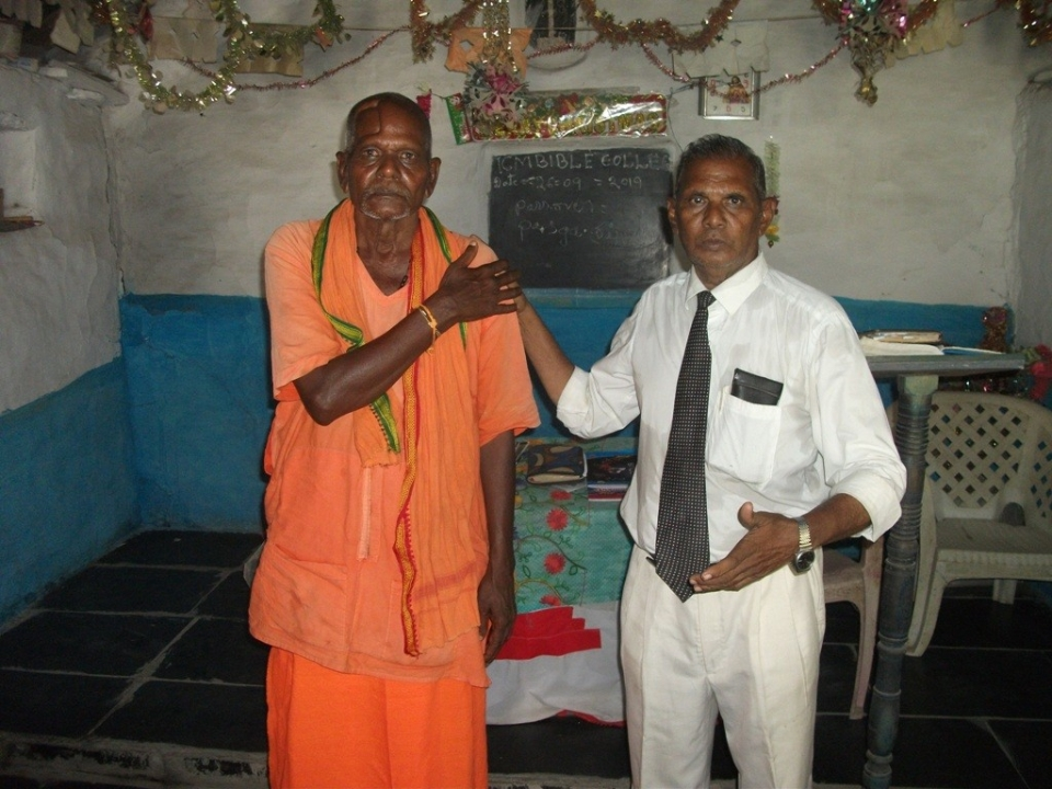 "This is my most recent unedited  email sent to me by our southern India campus. The leader is Cheruvi Henry David. He has been faithful to teach ICM courses for the last 4 years several times a month. Pastor Cheruvi and his students have persevered thru much persecution but have never wavered from their faith in Christ. Please consider helping us to support these brave men and women. Just click the ""Support This Ministry"" button at the bottom of your screen.To  Dr. Ray self Founder/president icm college. Respected sir. Please find the enclosed photos of bible classes  we have been conduct meetings two times  in ths month. first one is 11 in this month and again 26  of this month. . enclosed only  4 photos for two days meetings. Thank you so much for yours help in the first week of this month . Thank you for yours live videos. in this week praise the lord for yours great messages. so many times you are speaking about the power of holy spirit. we are all praising our great lord for yours support  and prayers. videos. Thank you for yours prayers and blessings. Faith fully in Christ. C.H.David"