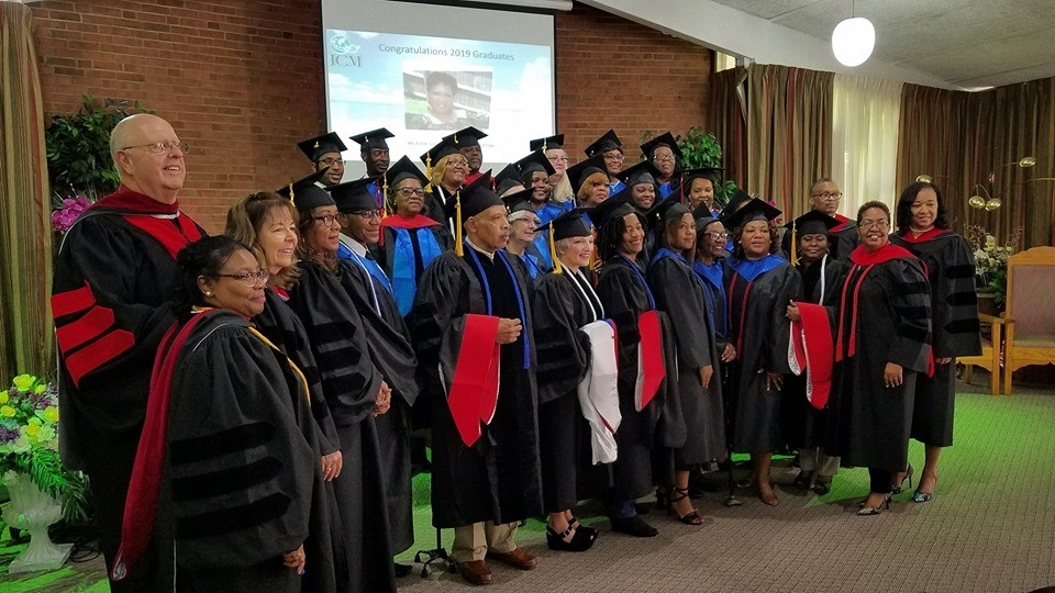 CONGRATULATIONS CLASS OF 2019!!!  It was and amazing and wonderful ceremony in Memphis on Saturday August 17th. We are very proud of this exceptional group of ministers of the Gospel of Jesus Christ. Truly the Spirit of the Lord is upon them!