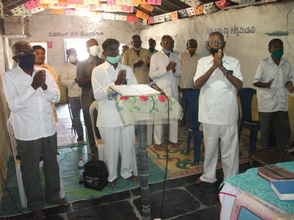 Pastor Cheruvi Henry DavidIt is with great sadness that I announced today the loss of a very dear friend. Pastor Cheruvi Henry David our campus director in India has gone to be with Jesus.He was a faithful friend, teacher and director for our college.He sacrificed very much to teach classes for ICM in Southern India.He made sure that all of our students had transportation and food to eat when they came to class.He taught the word of God to them as a faithful servant.He will be missed a lot.He would send me emails every month detailing everything about the ministry and what was going on in India.He loved to send photos of the students and the class. I will miss him very much. he was a great man of God and minister of the Gospel of Jesus Christ.