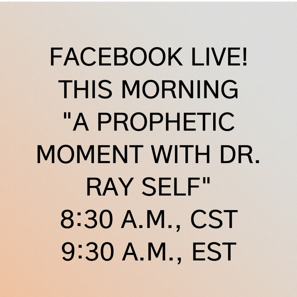DR. SELF RETURNS WITH ANOTHER POWERFUL WORD!