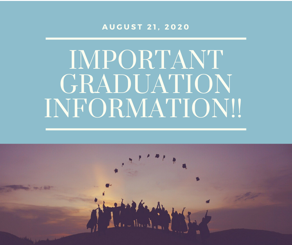 **PLEASE READ CAREFULLY**<br />**Important Graduation Information!!**<br /><br />As Covid-19 has continued to grow, our host church for graduation has, sadly, decided to cancel our ceremony. But just because we can't meet in person, doesn't mean we can't still celebrate your accomplishments!! We have decided to live stream a graduation ceremony from Orlando, Florida. In this ceremony, we will show a picture of you with your cap and gown holding your diploma. We will also honor you with an exclusive live video. We will have live praise and worship, you will meet your ICM staff, and hear some encouraging words.<br /><br />The video will broadcast on Facebook Live, and YouTube Live on August 21st at 7 p.m. Central Standard Time, 8 p.m. Eastern Standard Time. Do not forget to invite all of your family and friends to watch our broadcast!<br /><br />The best way to watch the video will be to follow us on Facebook. Go to the International College of Ministry Facebook page and hit the follow button. You can also subscribe to our YouTube channel called ICM College.<br /><br />Very important - We have ordered your cap and gown and your diplomas. You should receive them soon. We ask you to take a picture of yourself in your cap and gown, holding your degree. Please email that to us as quickly as possible. In the email include two or three sentences describing your purpose and call from the Lord. Please send all of this information to drray@icmcollege.org<br /><br />We're looking forward to this spacial day!