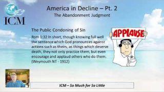America in Decline, Part 2